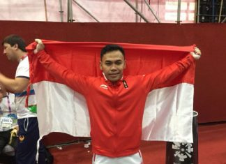 Lifter Eko Yuli Irawan Raih Medali Emas