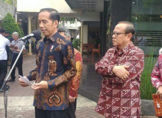 Presiden Jokowi Bersilaturahmi ke Kantor KWI