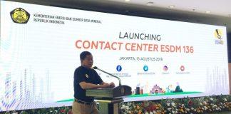 Kementerian ESDM Luncurkan Contact Center 136
