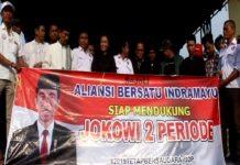 Petani dan Nelayan di Indramayu Deklarasi Menangkan Jokowi