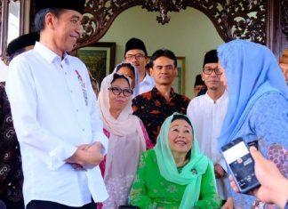 Jokowi Ucapkan Selamat Ultah untuk Gus Dur