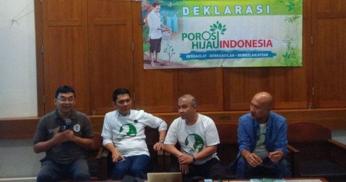 Deklarasi Poros Hijau Indonesia Dukung Jokowi-Ma'ruf Amin