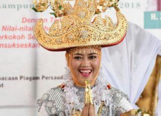 Festival Budaya Muwaghei di Lampung Timur