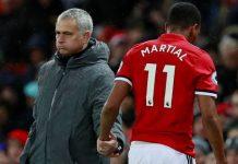Mourinho Berharap Martial Bertahan di MU