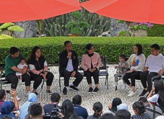 Keharmonisan Keluarga Jokowi